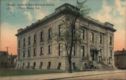 Liberty, Indiana State Normal School Postcard