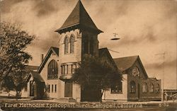 First Methodist Episcopal Church, Campbell, California Postcard