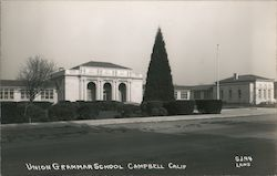 Union Grammar School Campbell, CA Laws Postcard