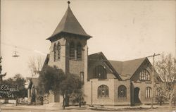 M.E. Church Campbell, CA Postcard