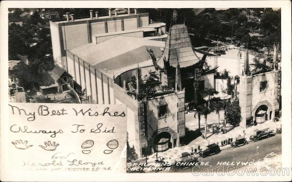 Grauman's Chinese Theater Hollywood California