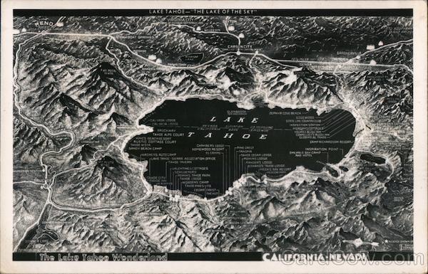 The Lake Tahoe Wonderland California
