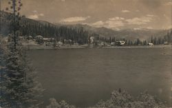 Lake Scene, General Grant National Park Postcard
