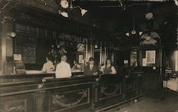 Saloon, Bar in Lodi in 1920's Postcard