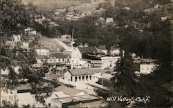 Aerial View of Mill Valley