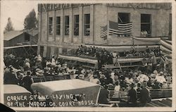 Corner Stone Laying of the Madoc. Co. Court House