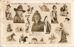 National Entertainers Postcard