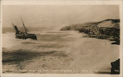 Wreck of Steamer Santa Rosa - July 7, 1911, Point Arguello