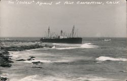 "The ""Iowan"" aground at Point Conception"