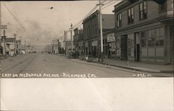 East on McDonald Avenue Postcard