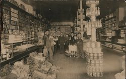 General Store Interior, Point Richmond - Ryon Postcard