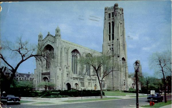 Rockefeller Memorial Chapel, University Of Chicago Illinois