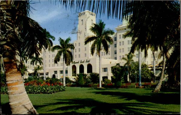 Famed Hollywood Beach Hotel Florida