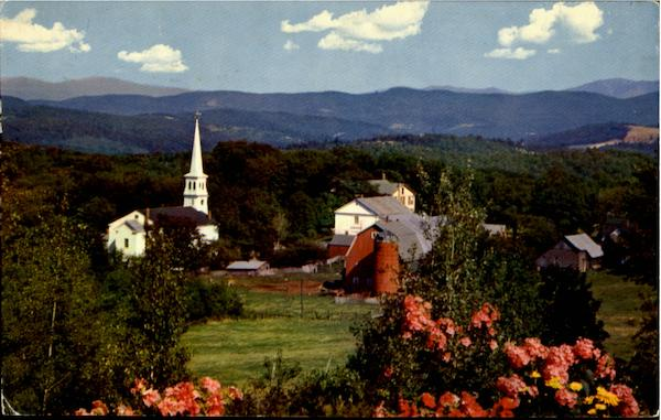Village Of Peacham Vermont