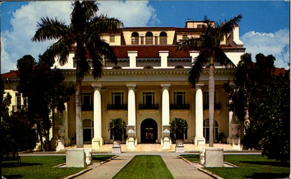 The Home Of The Late Henry Flagler Palm Beach Florida