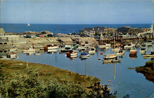 Harbor Scene At Perkins Cove Ogunquit Maine