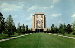 New Library, University Of Notre Dame Postcard
