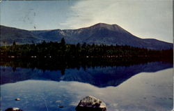 Mt. Katahdin From York's Camps Daicey Pond