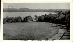View From Lakefield Camps Postcard