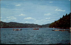 View of Lake Morey, Vermont