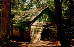 Old Log Chapel, Turkey Run State Park