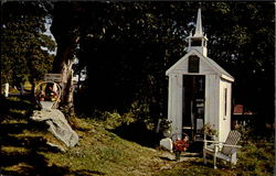 Smallest Church In The World Postcard
