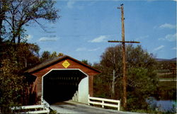 Old Covered Wood Bridge