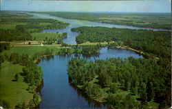 Aerial View Of Wabanica Beauty Spot