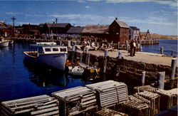 Motif Number One And Bearskin Neck From T Wharf, Rockport