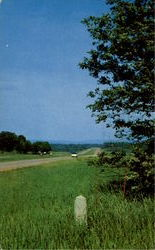 New York State Thruway Postcard