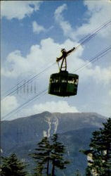 New Hampshire Aerial Tramway In Franconia Notch