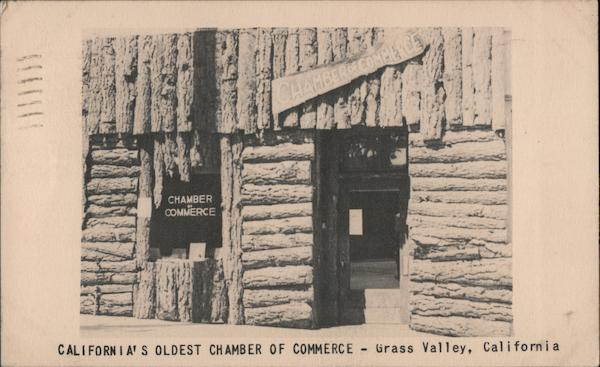 California's oldest chamber of commerce - Grass Valley, California