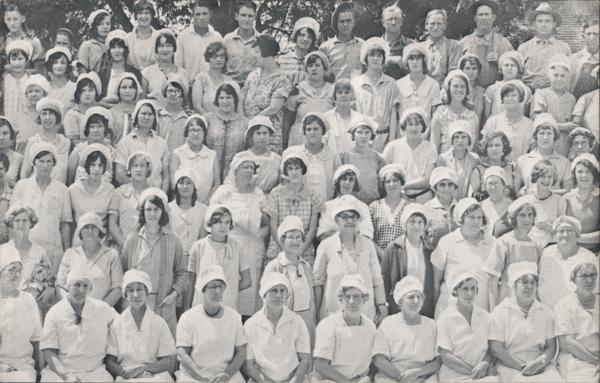 J.C. Ainsley Packing Co. Cannery Workers Campbell California