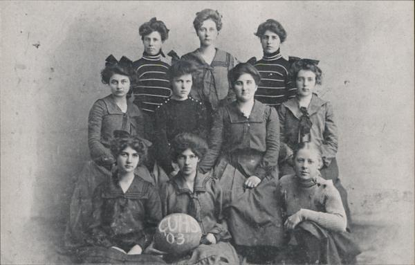 Campbell Union High School Girls Basketball Team - 1903 California