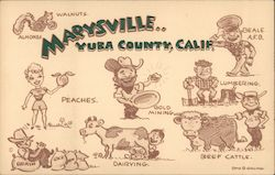Marysville Yuba County, Calif. Signed Stan Q. Gelling