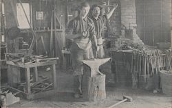 Campbell Blacksmith Shop California Postcard