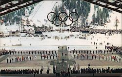 Closing Ceremonies 1960 VIII Winter Olympics