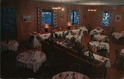 Ivy Dining Room Mount Hermon, CA Postcard
