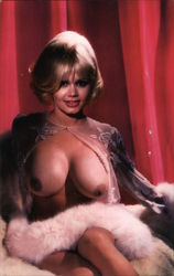 Yvonne D'Angers exposed breasts Postcard