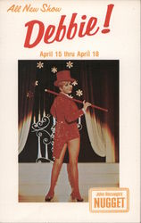 Debbie Reynolds Appearing at the Nugget Postcard