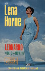 Lena Horne at the Circus Room Restaurant in John Ascuaga's Golden Nugget