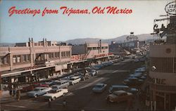 Greetings from Tijuana, Old Mexico Postcard