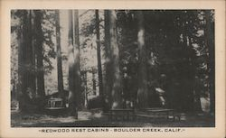 Redwood Rest Cabins