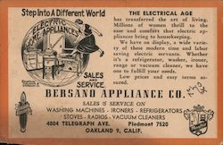 Bersano Appliance Co. Sales and Service