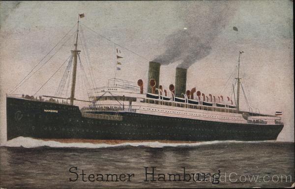 Steamer Hamburg Topeka Kansas