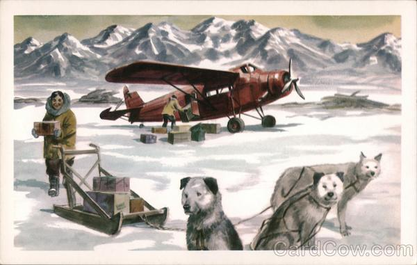 Alaska Airlines - the first .. the finest service to all Alaska
