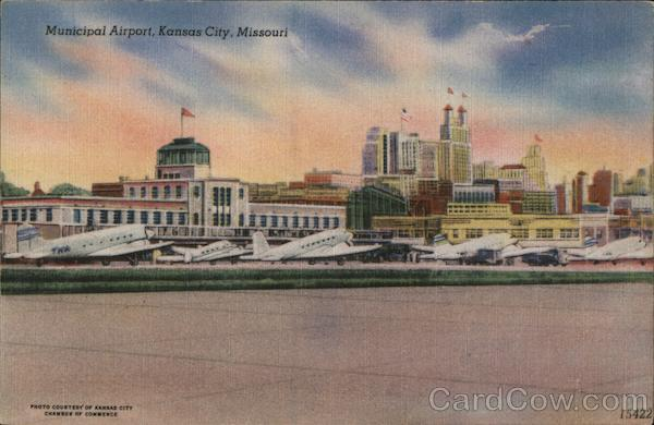 Municipal Airport Kansas City Missouri