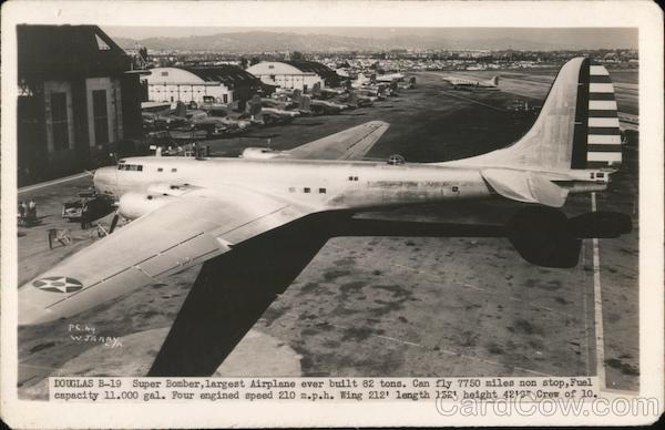 Douglas B-19 Super Bomber W. J. Gray Air Force
