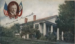 """Rulloch Hall"" Roswell, GA Home of President Roosevelt's Mother Postcard"