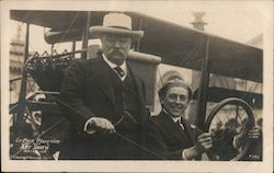 Theodore Roosevelt with Art Smith 1915